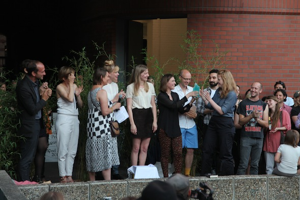 Berlin Art Prize Award Ceremony; photo: Florian Denzin