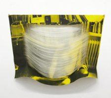 """Melissa Steckbauer, """"Timi"""" (2013), cut paper, 84 x 126 cm; courtesy of Liebkrank Galerie"""