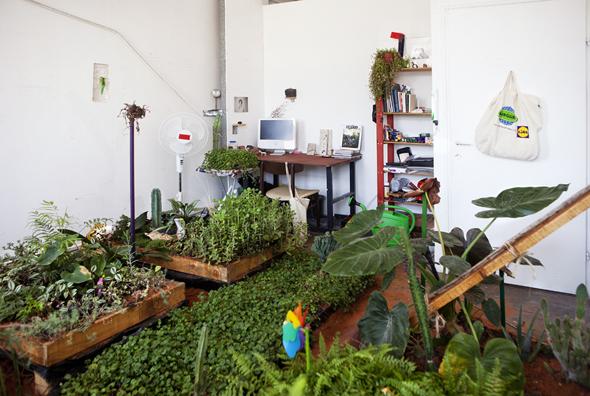 Berlin Art Link Studio Visit with Ariel Reichman