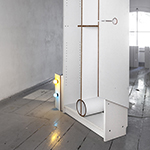 Berlin Art Link Head Facing Left (2013), photo by Patrick Voigt