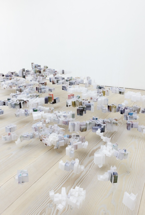 Berlin Art Link Article, Saatchi Gallery, Han Feng, Floating City