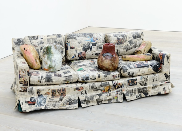 Berlin Art Link Article, Saatchi Gallery, Jackson Hutchins, Couch For A Long Time