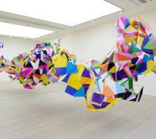 "Berlin Art Link Article, Saatchi Gallery, Marcelo Jácome, ""Planos-pipas n17"""