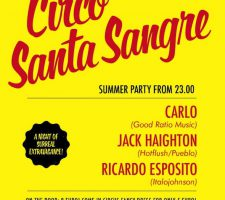 Invite - Santa Sangre and After Party