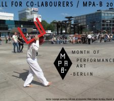 Berlin Art Link Blog - Month of Performance Art Berlin, may 2014