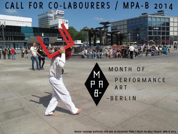 Berlin Art Link Blog - Month of Performance Art Berlin, may 2014