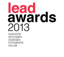 Berlin Art Link Blog about Lead Awards Nomination 2013
