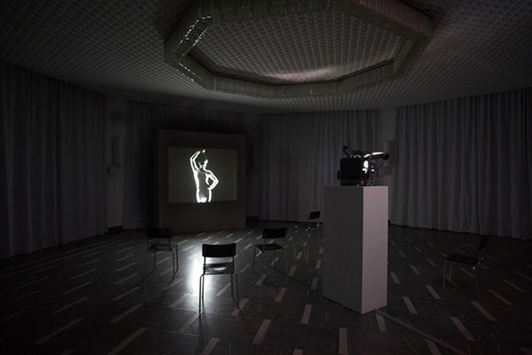 "Berlin Art Link, Jeremy Shaw, ""Variation FQ"", Schinkel Pavillon, photo by Nick Ash"