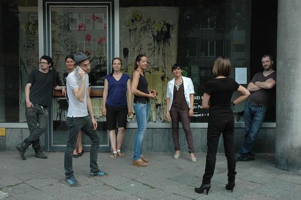 Berlin Art Link interview with LSD Galerie