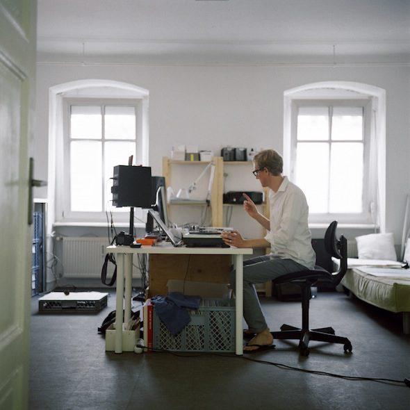 Berlin Art Link Studio Visit with Andy Graydon