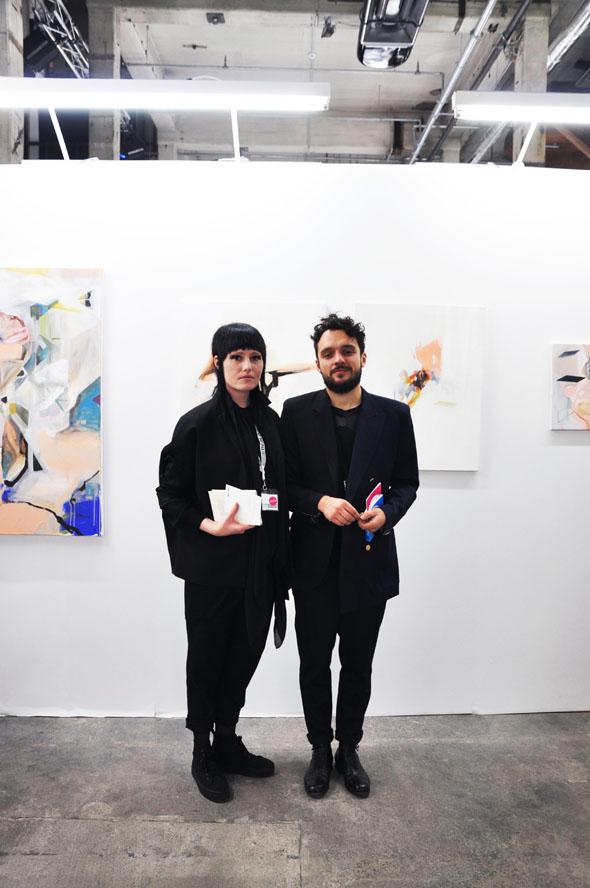 Berlin Art Link Discover, Berliner Liste, Jessica Dettinger and Michal Plata
