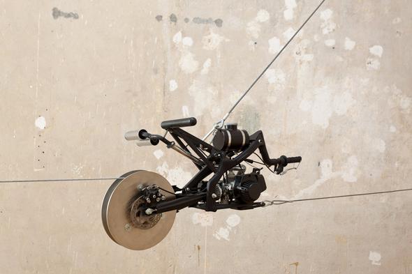 Berlin Art Link Review, New Atlantis, Art work by Luc Mattenberger