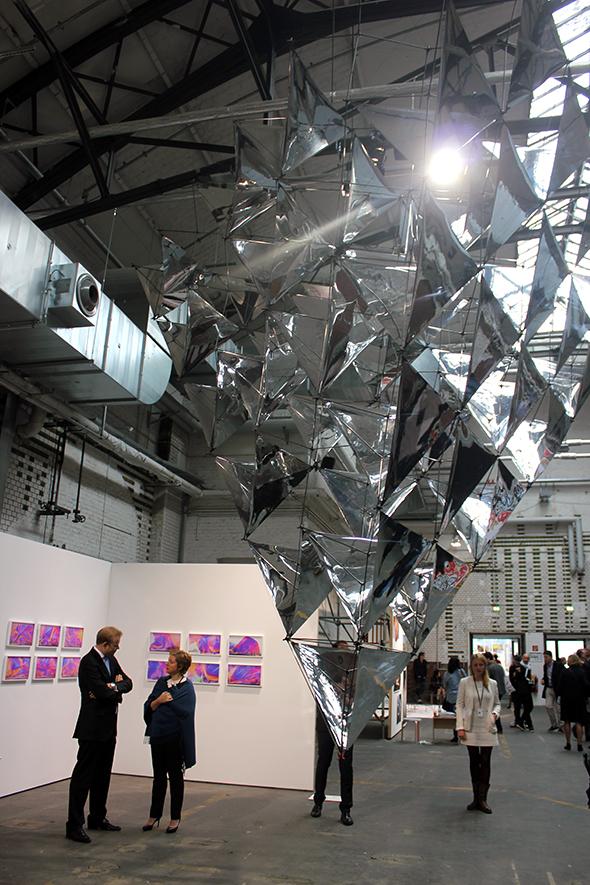 Berlin Art Link, Tomas Saraceno, Solar Bell