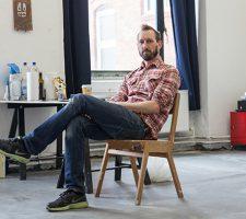 Berlin Art Link Studio Visit with Ivo Gretener