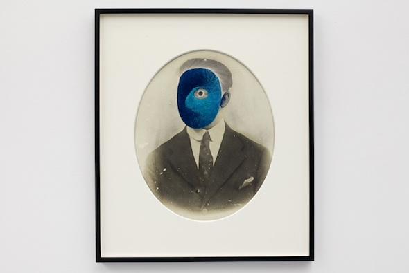 "Maurizio Anzeri, ""Blue"""