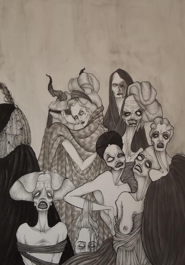 Daniele Davitti, Infelici stanze (Unhappy Rooms), 2013