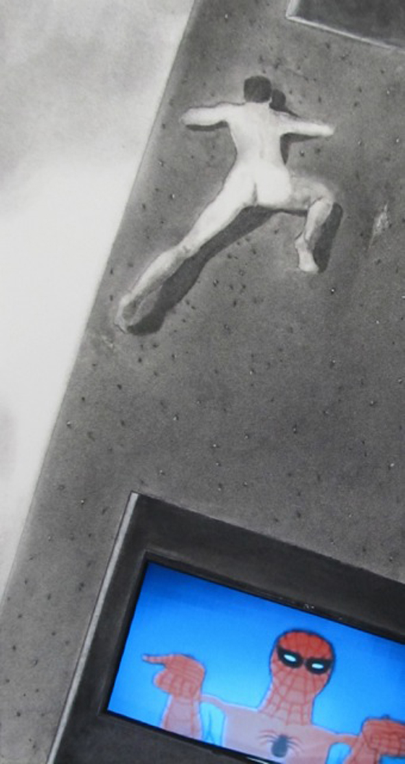 Berlin Art Link // F. Lennox Campello - Spiderman Naked