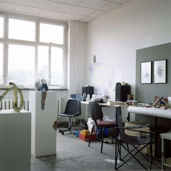 Berlin Art Link Studio Visit with Katharina Fengler