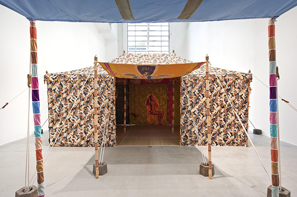 Berlin Art Link, Francesco Clemente, Tents, 2013