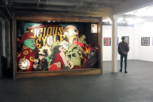 Berlin Art Link Photo Blog Broken Fingaz at Urbanspree