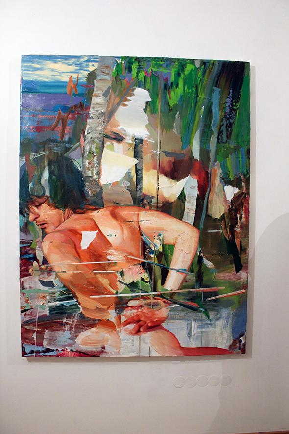 berlin_art_link_16-11-13_wildside_Giuseppe-Gonella_St-Sebastian_2013_170x130