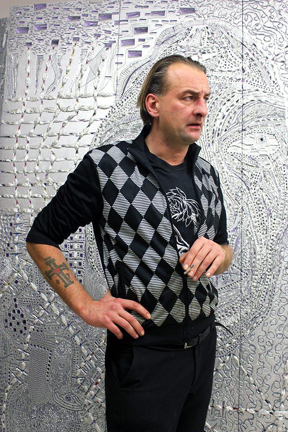Berlin Art Link Studio Visit with Stefan Kaminski