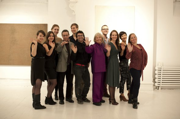 Berlin Art Link Article, Clocktower Gallery Team
