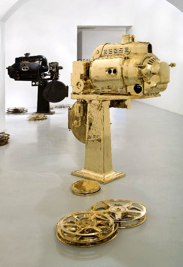 Berlin-Art-Link-Galleria Continua - Subodh Gupta- There is Always Cinema-IAF 2014