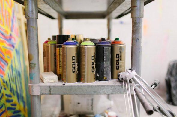 Berlin Art Link studio Visit with Kadar Brock