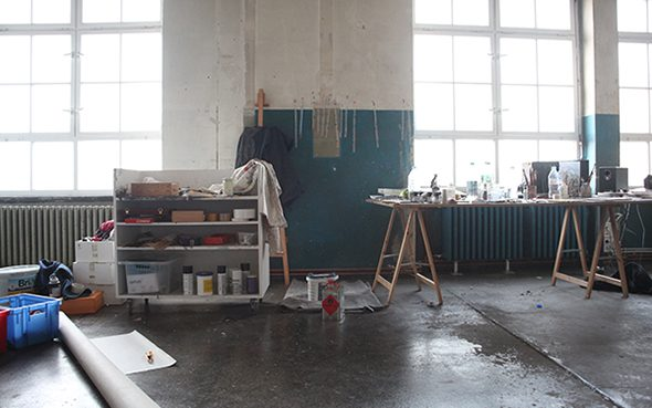 Berlin Art Link Studio Visit with Edouard Baribeaud
