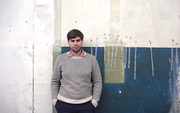 Berlin Art Link Studio Visit with Edouard Baribeaud