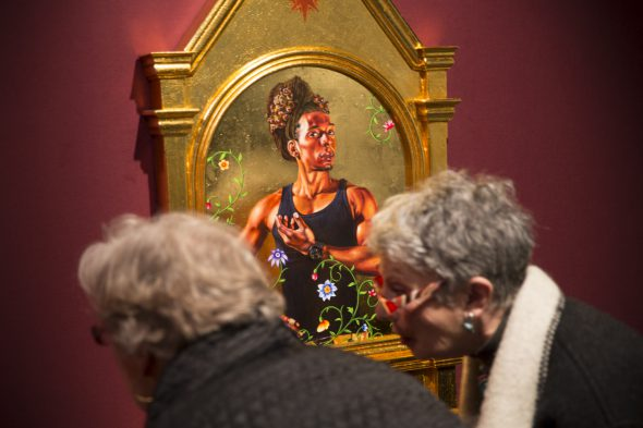 Berlin Art Link Discover, Art Work by Kehinde Wiley