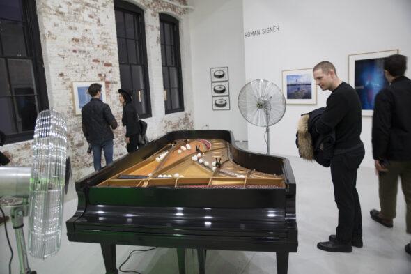 Berlin Art Link Discover, Art Work by Roman Singer