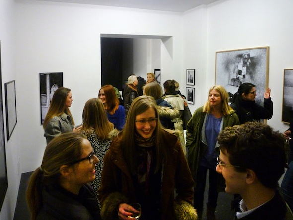Berlin Art Link Visual Noise Opening at Lage Egal