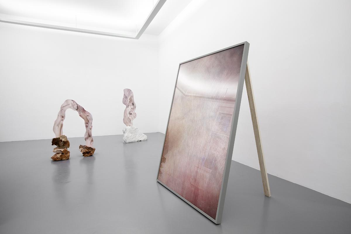 Berlin Art Link, Rachel de Joode, The Molten Inner Core, Installation View