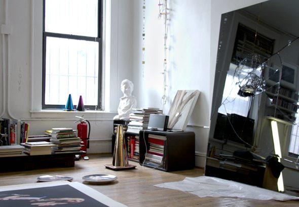 Berlin Art Link studio visit with Nir Hod