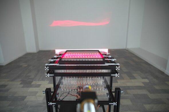 Berlin Art Link Discover, Art Work by Ralf Baecker; courtesy of LEAP