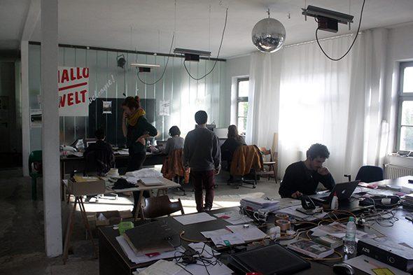 Berlin Art Link Studio Visit with raumlaborberlin