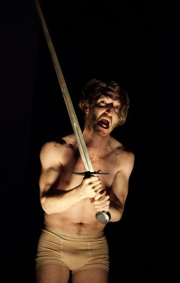 Berlin Art Link Feature Hamlet at Berliner Ensemble with Christopher Nell, Photo: Lucie Jansch