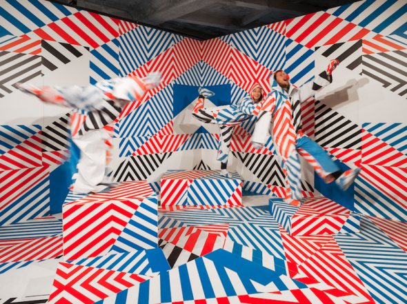 Berlin Art Link Discover, Art Work by Maser; courtesy of the artist and Olympus