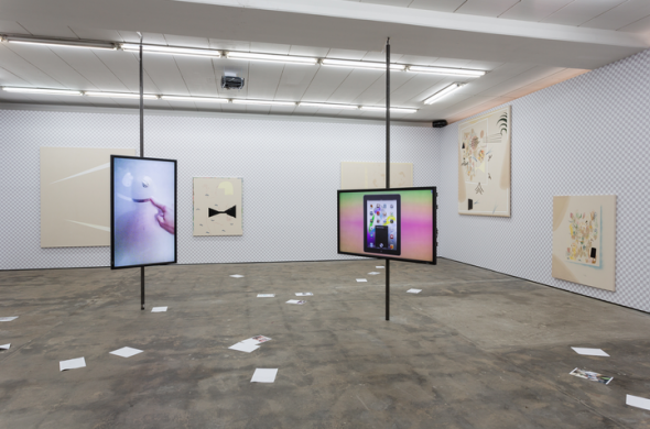 Berlin Art Link Features, Art Work by Florian Meisenberg; courtesy of Wentrup Gallery