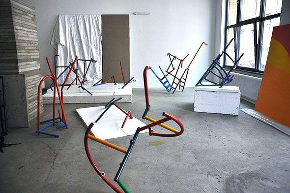 Berlin Art Link Studio Visit with Przemek Pyszczek