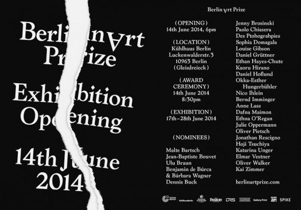 Berlin Art Link Discover; courtesy of Berlin Art Prize