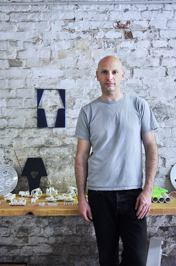 Berlin Art Link Studio Visit with Eyal Burnstein
