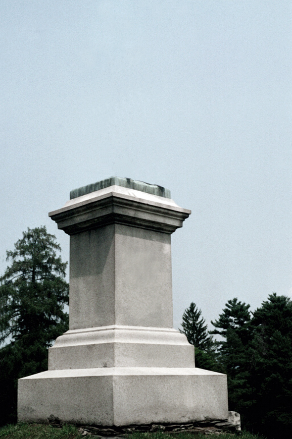 """""""Monument (from Abandoned Monuments)"""" (2008), photograph, photo courtesy of the artist."""