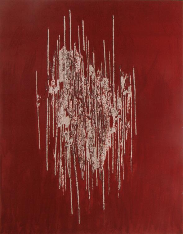 """untitled"" (2009), mixed media, photo courtesy of the artist."