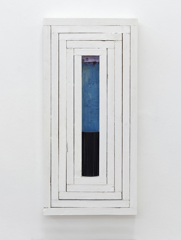 Florian Schmidt, Untitled(Whitespace)01, at the Figge von Rosen Gallery Ambit