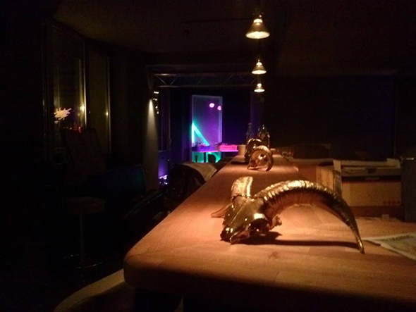 Horns and Hooves, Berlin bar view