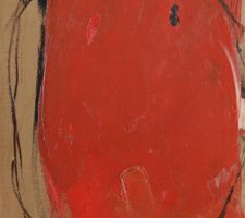 "Douglas Swan ""Red Net"" (1959), photo courtesy of Whitford Fine Art"