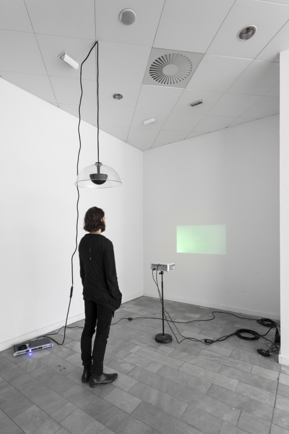 "Paolo Thorsen-Nagel ""Now Dispels"" (2014), installation view, photo courtesy of LEAP"